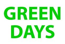 GREEN DAYS 2014