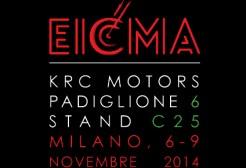 KRC Motors EICMA 2014 - Esposizione mondiale del motociclismo